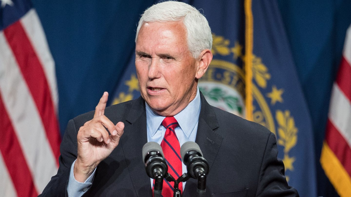 <i>Scott Eisen/Getty Images</i><br/>Former Vice President Mike Pence