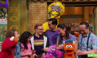 """""""Sesame Street"""" introduced two gay dads on its Family Day episode."""