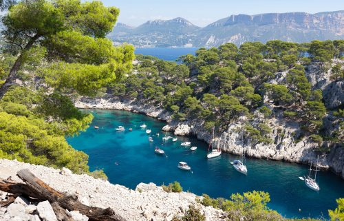 France's coastline