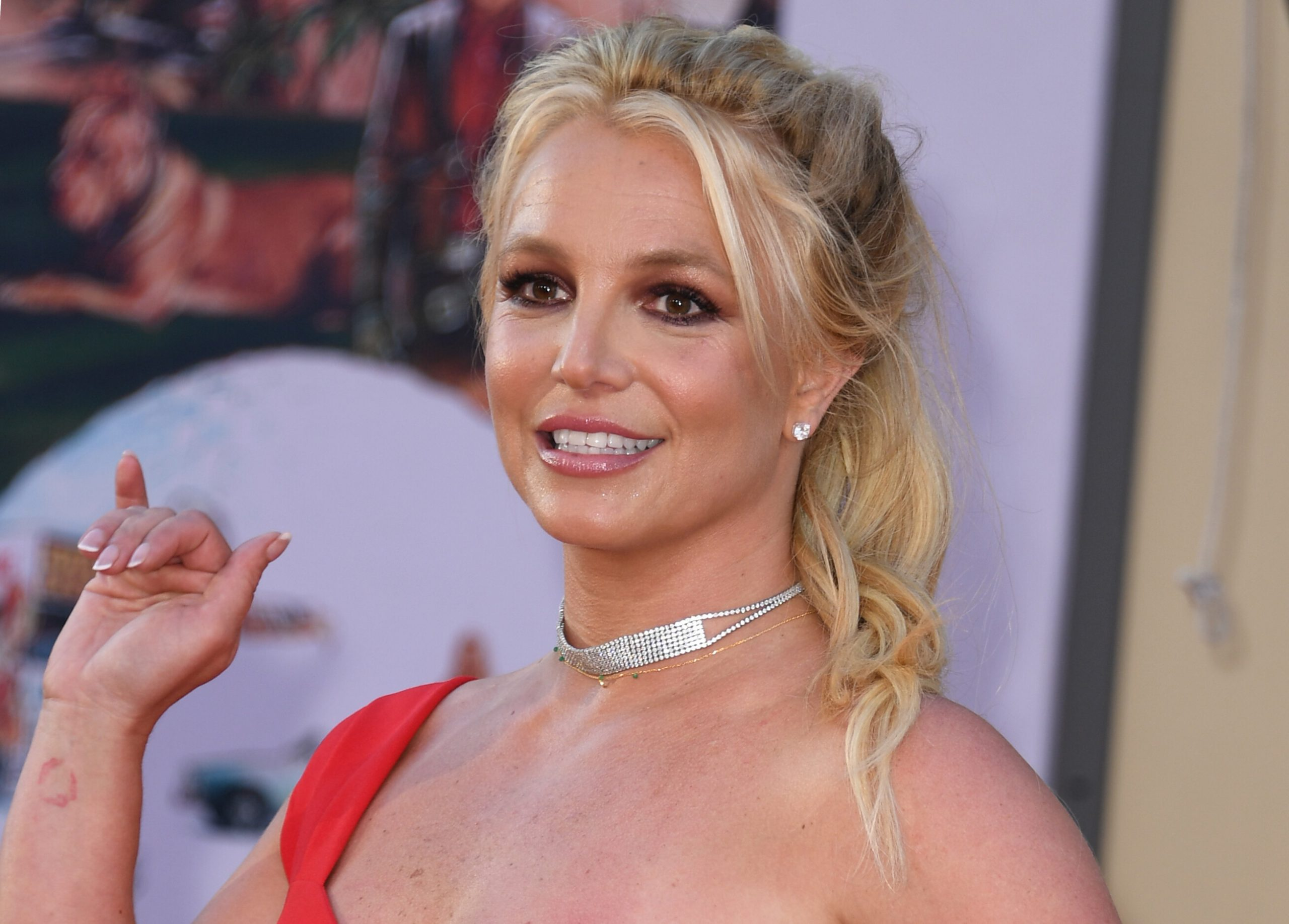 <i>VALERIE MACON/AFP/Getty Images</i><br/>Hollywood stars are showing support for singer Britney Spears.
