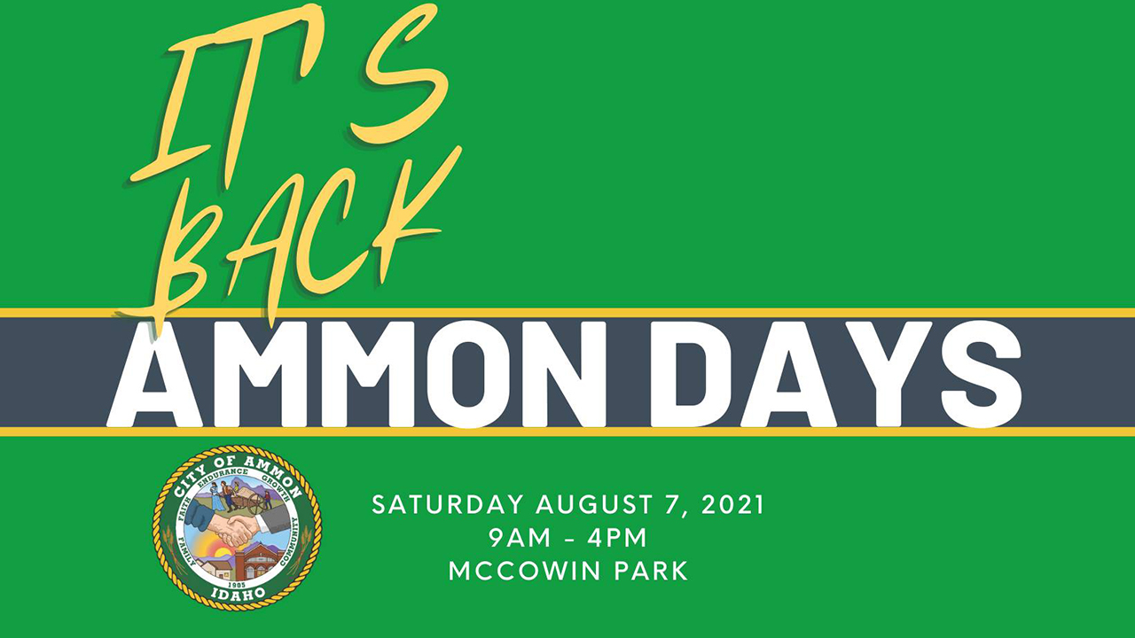 Ammon Days 2021 is back