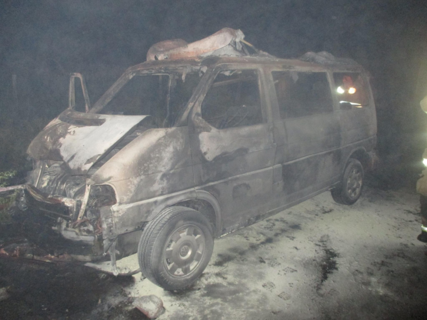 Deer collision causes vehicle fire_Blaine County Sheriff