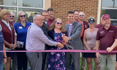 Ribbon Cutting ceremony at Aid for Friends in Pocatello, ID