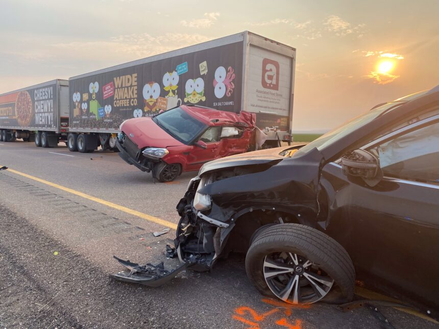 Images of vehicles involved in Sunday's crash in Millard County. Right click to download full size images. Photo credit- Utah Highway Patrol5