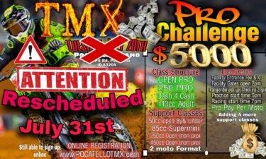 Pocatello TMX Pro Challenge flyer