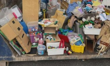 Neighbors were shocked to find the Irwin Preschool dumpster filled with items they felt were perfectly good and useable.