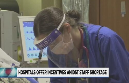 Hospitals in Portland are offering thousands of dollars in bonuses and incentives to attract nurses amid a staffing shortage.