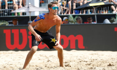 US men's beach volleyball player Taylor Crabb reportedly tested positive for Covid-19.