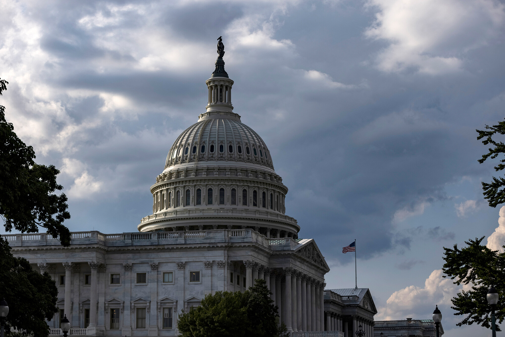 <i>Samuel Corum/Getty Images</i><br/>The U.S. Capitol Building is closed to the public this year during Independence Day celebrations on July 4 in Washington