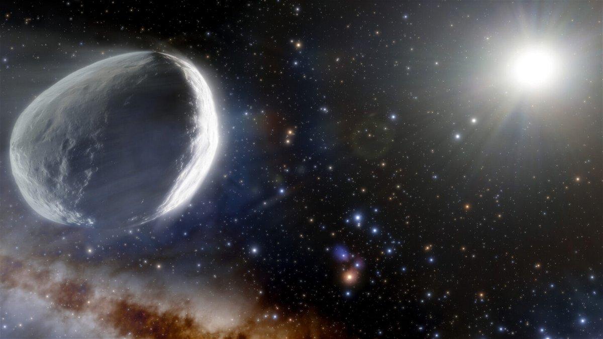 <i>J. da Silva/NOIRLab/NSF/AURA</i><br/>Comet Bernardinelli-Bernstein