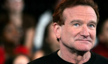 Actor Robin Williams appears onstage during MTV's Total Request Live at the MTV Times Square Studios on April 27
