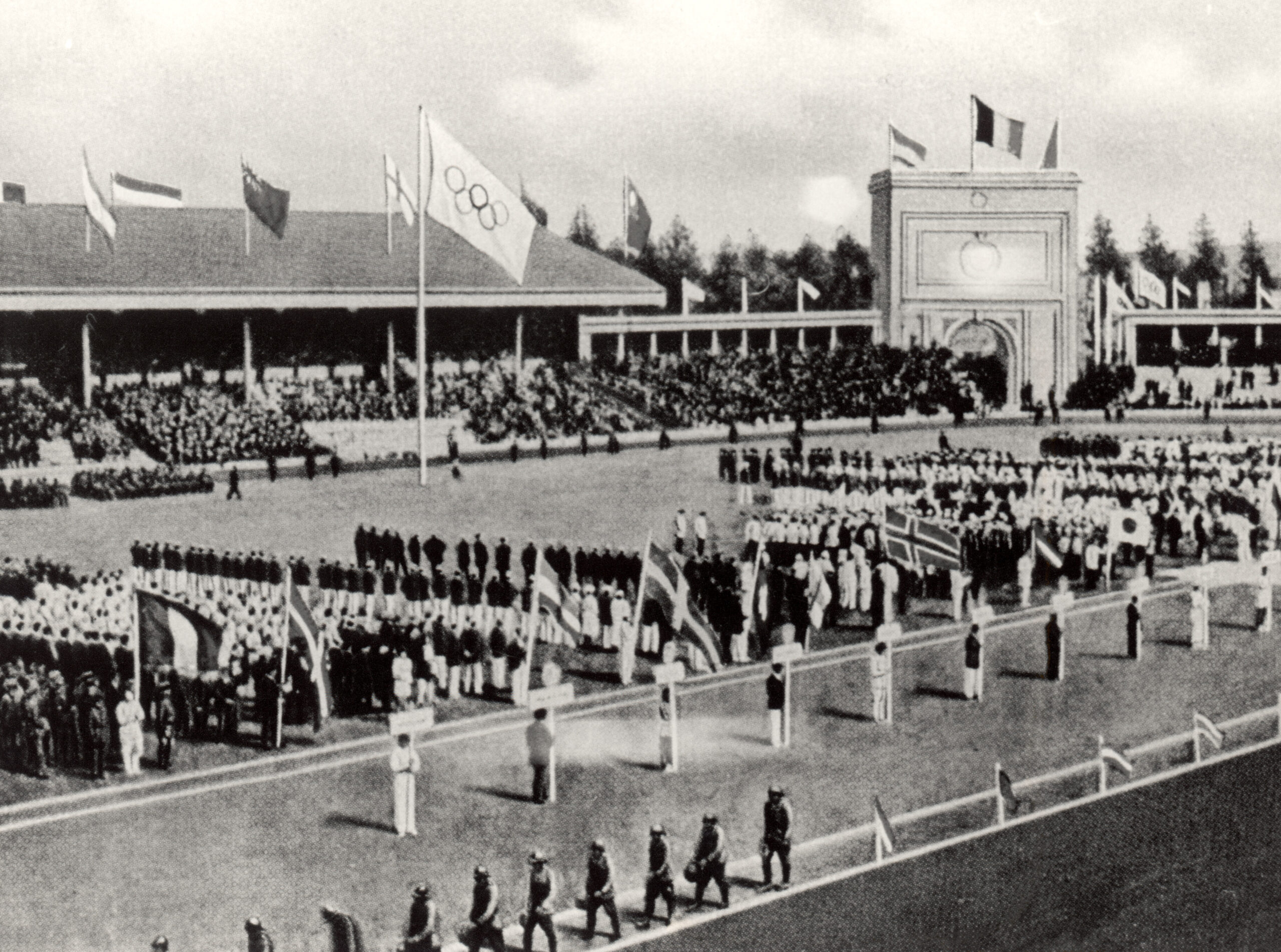 <i>Getty Images/file</i><br/>Athletes complained of poor conditions at the 1920 Antwerp Games which followed World War I and the Spanish flu pandemic.