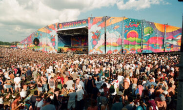 A shot of Woodstock '99 as seen in the documentary 'Woodstock 99: Peace