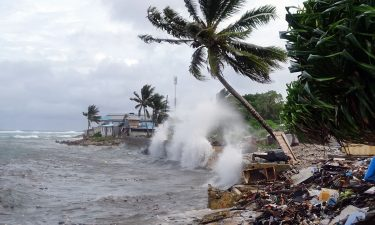 More than 200 people fled their homes in Majuro