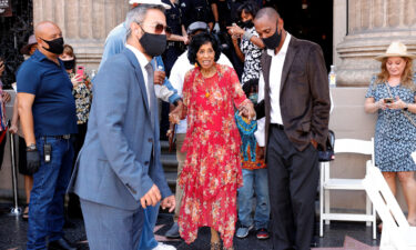 Marla Gibbs was honored July 20 with a star on the Hollywood Walk of Fame.