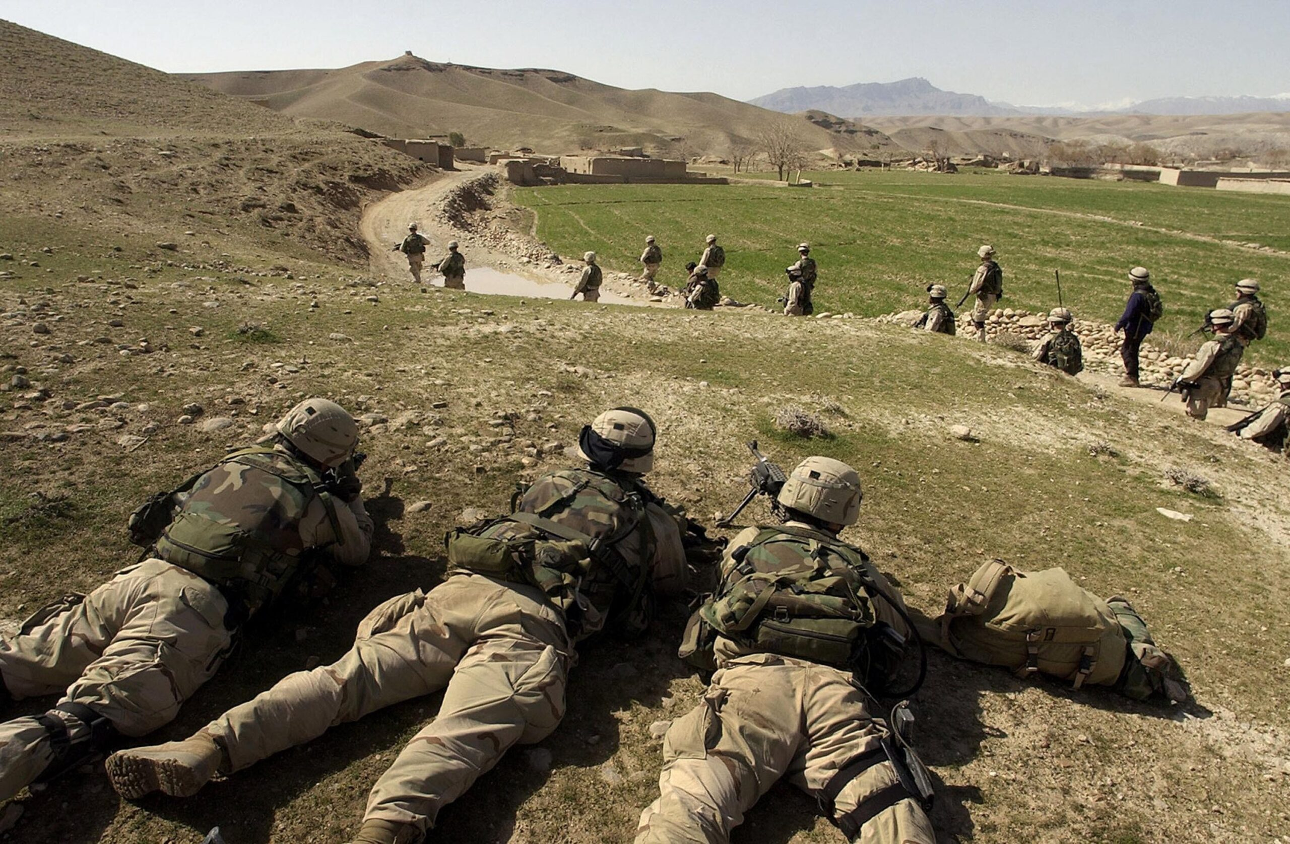 <i>David Swanson/Pool/Getty Images</i><br/>A Pentagon watchdog report on Afghanistan warns that the country's government could face an