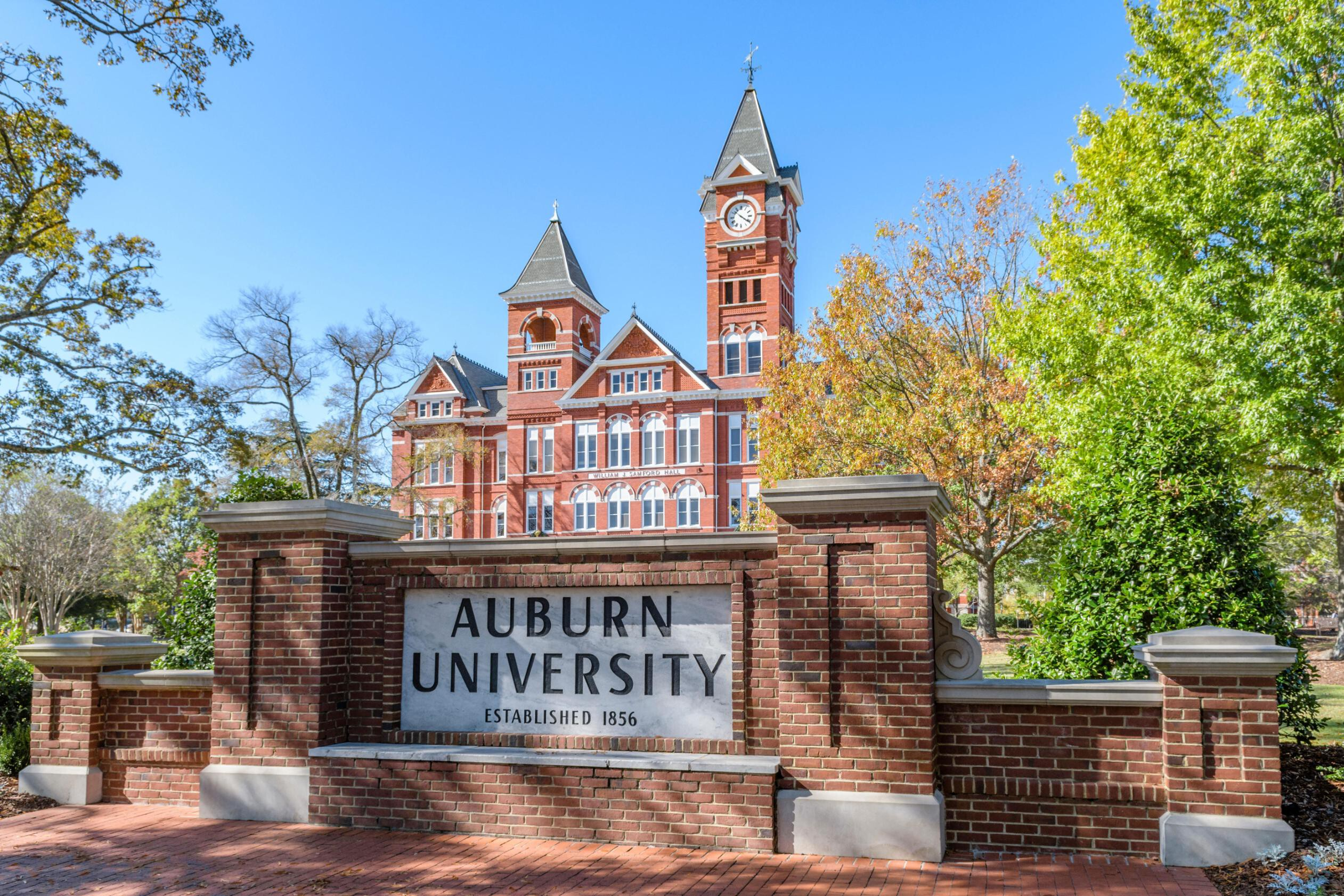 <i>Rick Lewis/Alamy</i><br/>Auburn University is offering prizes to encourage students to get vaccinated.