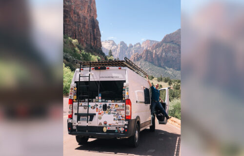 Kim and Jesse Butler moved into their van
