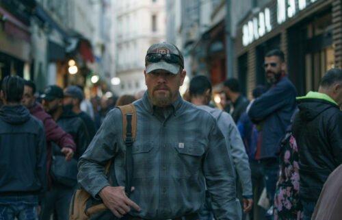 "Matt Damon works to get his daughter out of prison in ""Stillwater."""