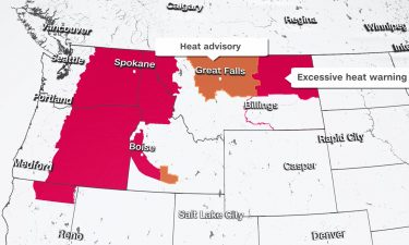 Heat alerts cover the Northwest through the holiday weekend