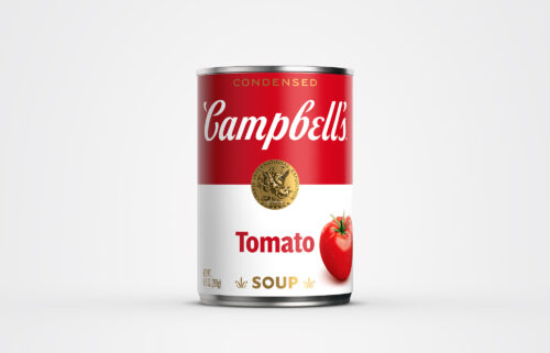 The labels on Campbell's soup cans are getting their first redesign in about 50 years.