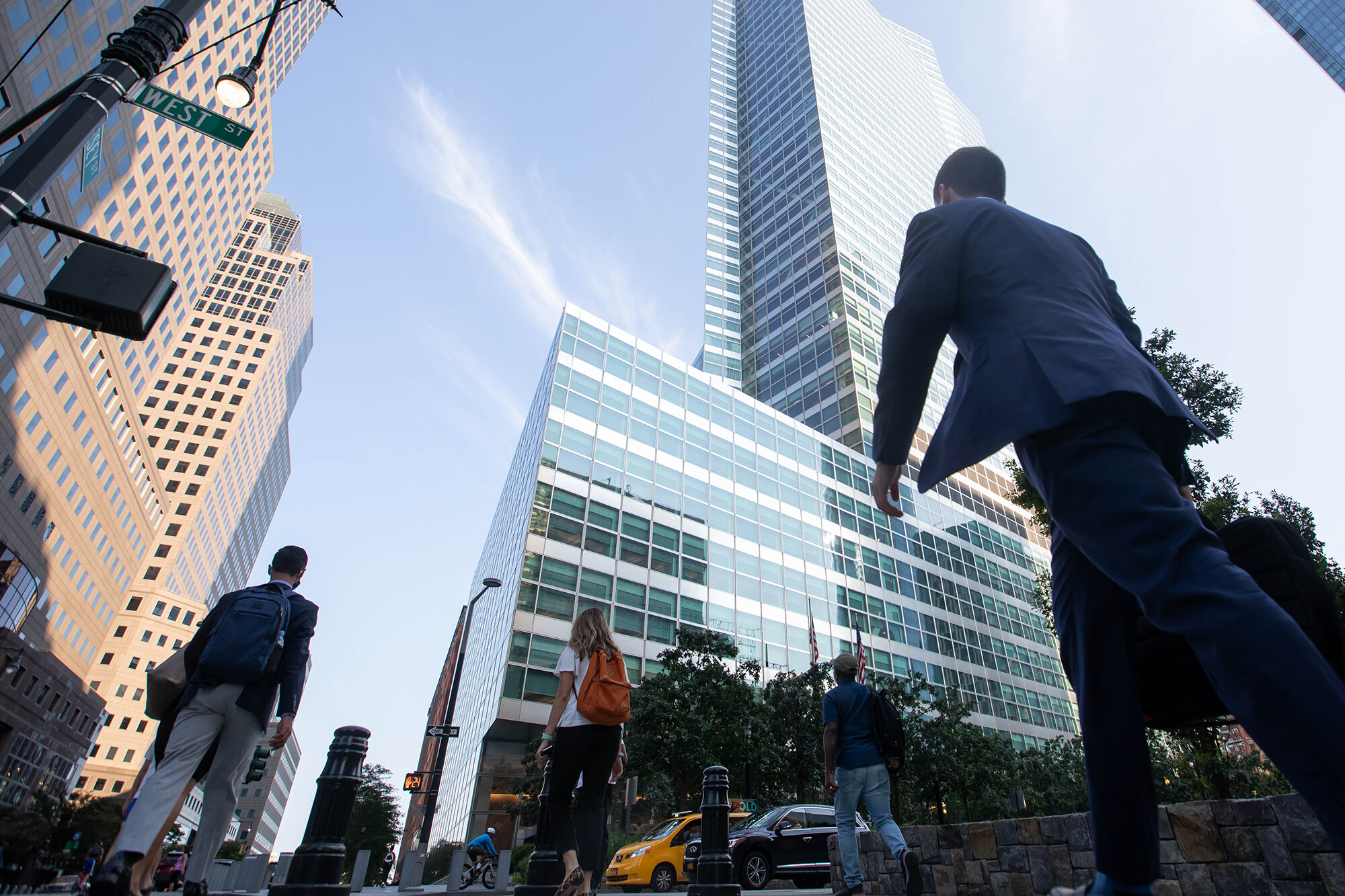 <i>Michael Nagle/Bloomberg/Getty Images</i><br/>Goldman Sachs is barring employees from using their ID cards to enter the office building if they haven't submitted proof of their vaccination status