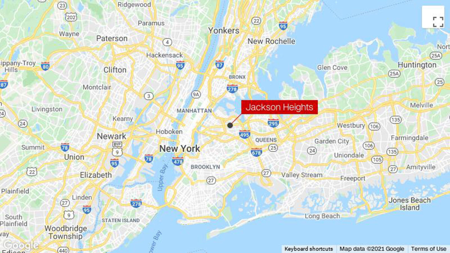 <i>Google</i><br/>A Queens man was arrested and charged on suspicion of dragging an 11-year-old girl into an alleyway