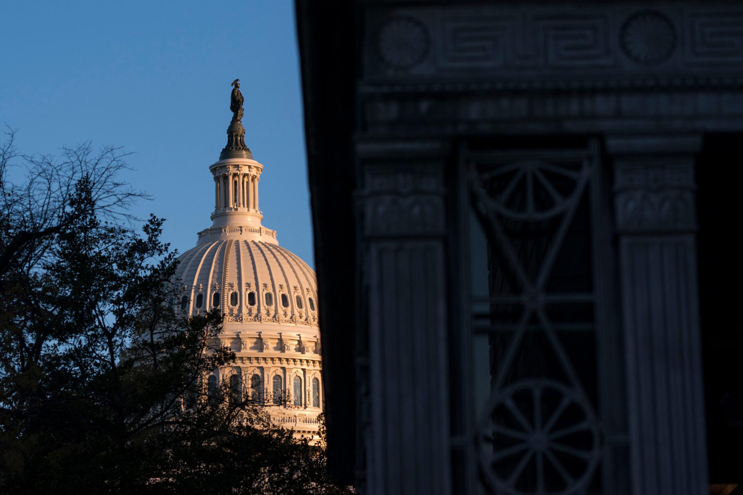 <i>Sarah Silbiger/Getty Images</i><br/>The Senate voted to approve a roughly $2 billion Capitol Hill security spending bill in response to the deadly January 6 insurrection.