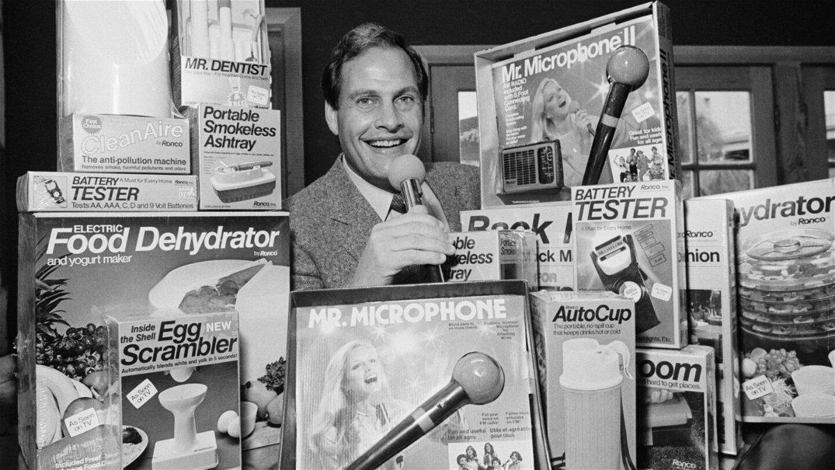 <i>Reed Saxon/AP</i><br/>Infomercial king Ron Popeil died