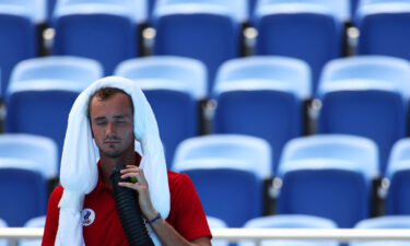 Daniil Medvedev asks who will take responsibility if he dies in Tokyo Olympics' heat and humidity.