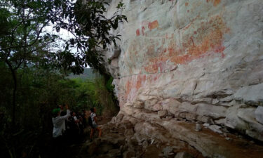 """The stunning rock art discovery was made in 2017 as part of an expedition named """"Last Journey."""""""