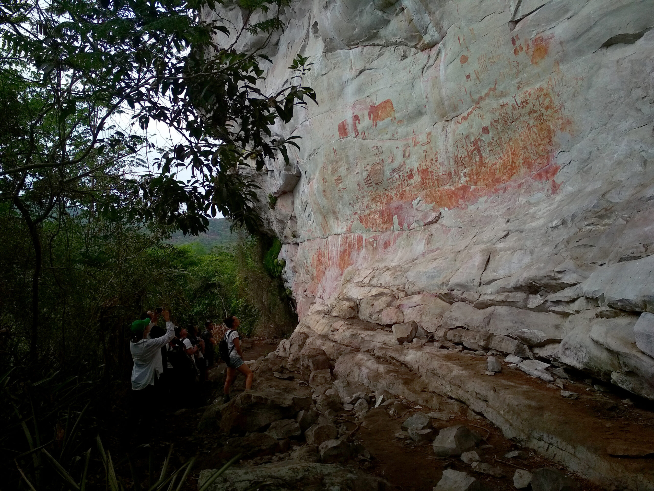 <i>Courtesy Vive Guaviare/Marcel Reina</i><br/>The stunning rock art discovery was made in 2017 as part of an expedition named
