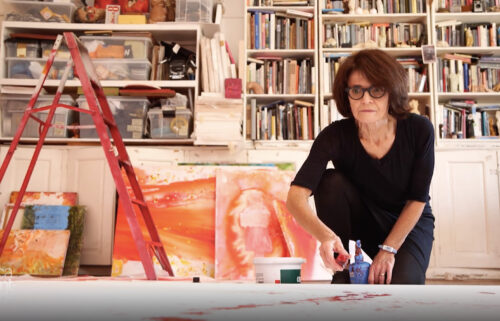 Artist Penny Siopis explores trauma and feelings of shame through her paintings.