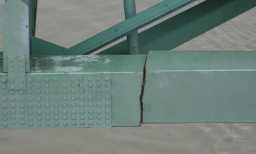 The Tennessee Department of Transportation in May released photos of the crack that shut down the Hernando DeSoto bridge.
