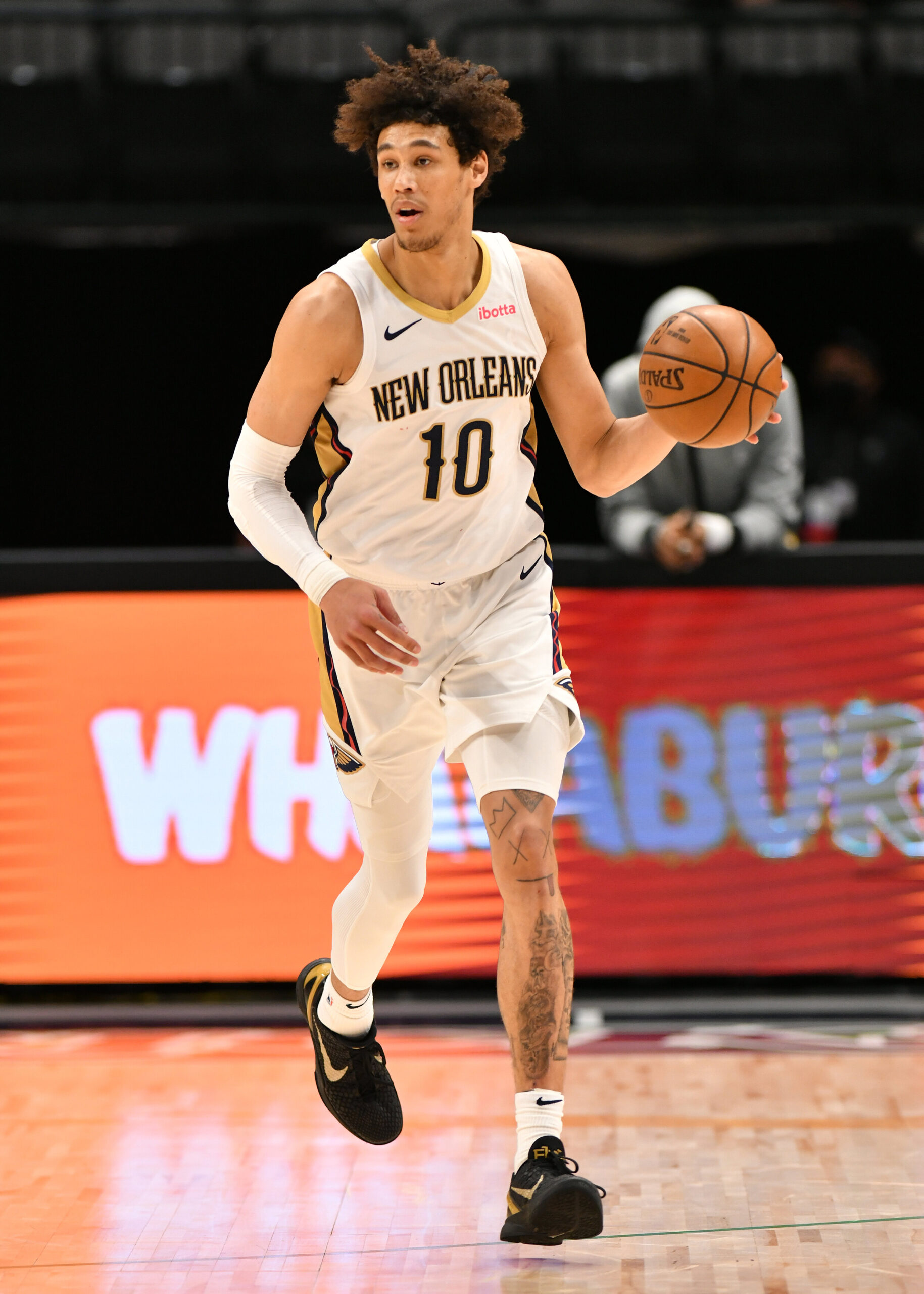 <i>Glenn James/NBAE/Getty Images/FILE</i><br/>The Los Angeles Police Department has launched an investigation into whether officers used excessive force while arresting NBA Pelicans center Jaxson Hayes