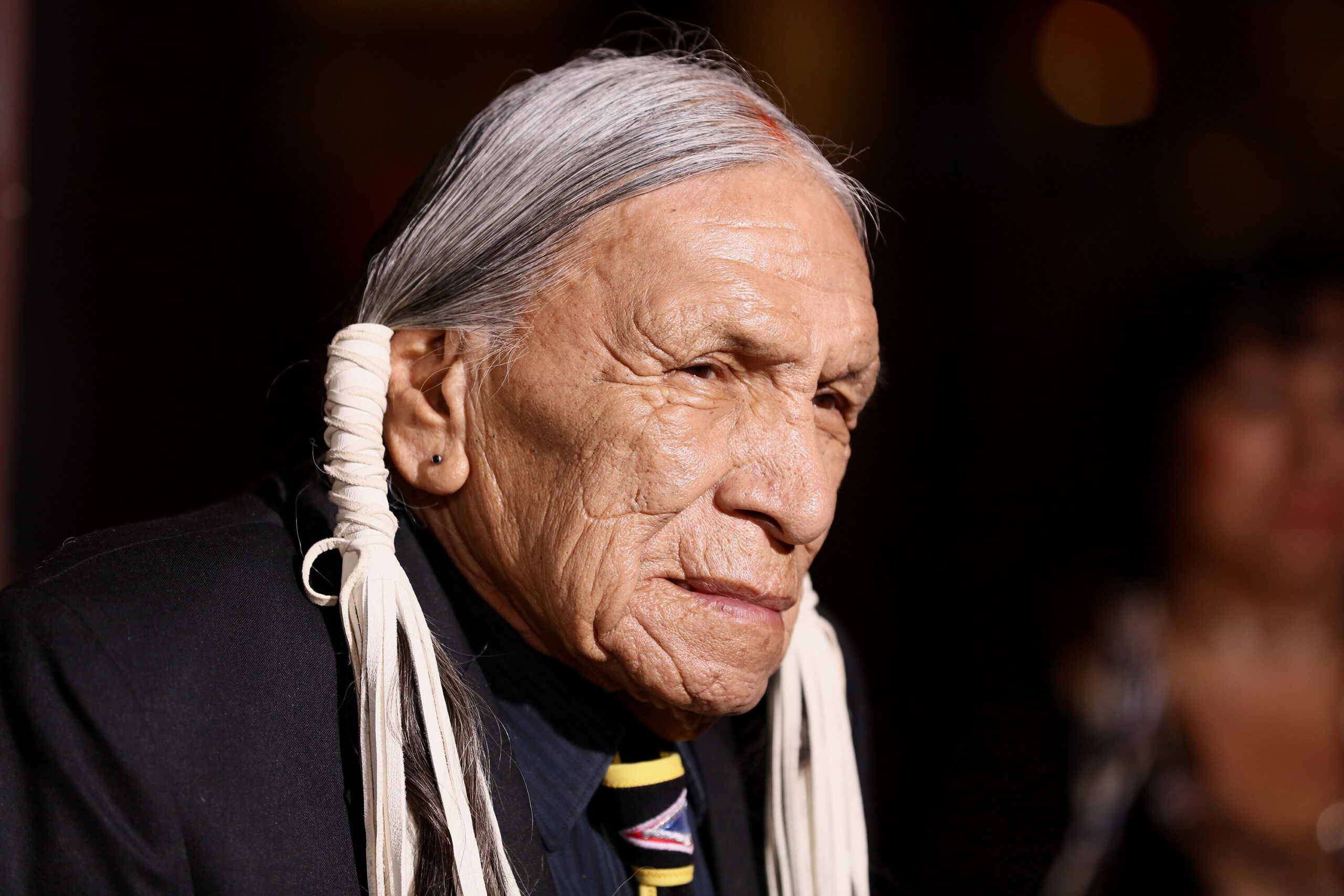 <i>JB Lacroix/WireImage/Getty Images</i><br/>Actor Saginaw Grant