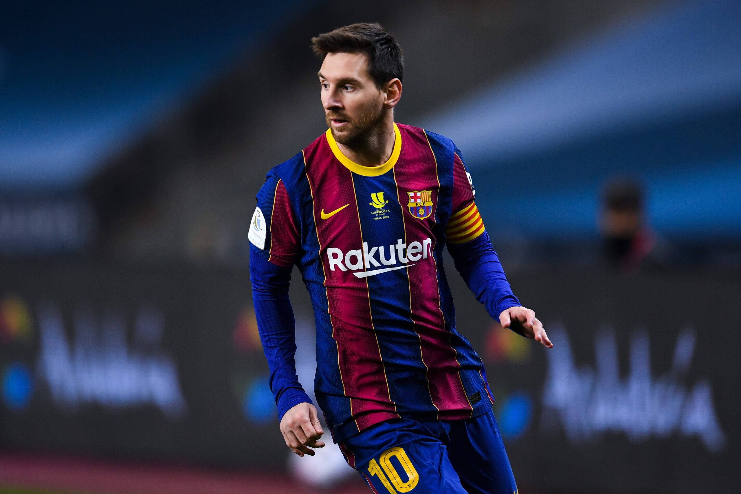 <i>David Ramos/Getty Images Europe/Getty Images</i><br/>Lionel Messi