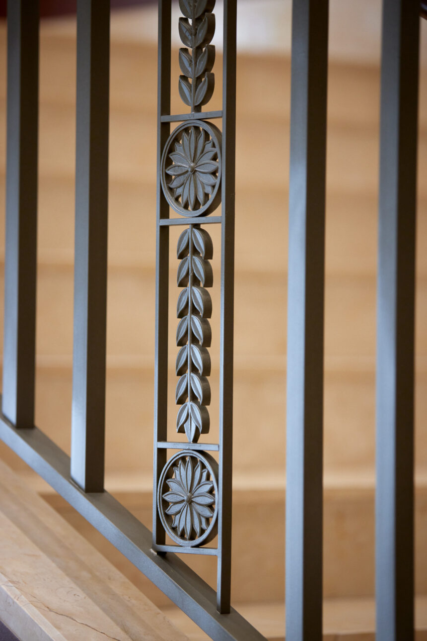Details in the iron and metal work inside the Pocatello Idaho Temple_2021 by Intellectual Reserve, Inc. All rights reserved.