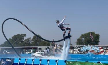 Nerveless Nocks Flying Jetpack Circus