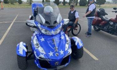 Veteran Jim Rice prepares for motorcycle ride to Jackson on Friday