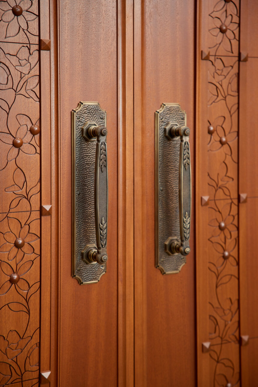 Photo of wood details and embellishments inside the Pocatello Idaho Temple_2021 by Intellectual Reserve, Inc. All rights reserved.