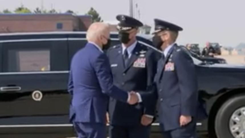 President Joe Biden visits national fire center in Boise24