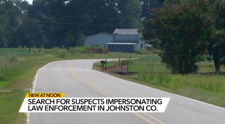 <i>WTVD</i><br/>Johnston County deputies are on the lookout for an alleged blue-light bandit.