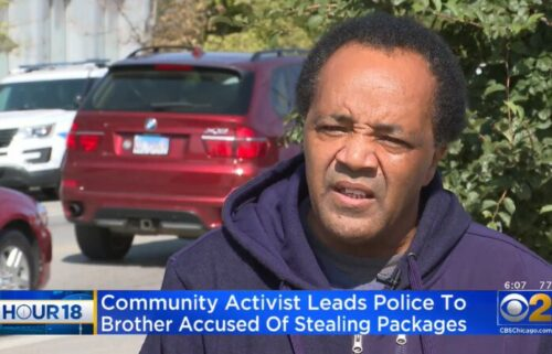Chicago community activist Andrew Holmes said he turned in his brother to police in connetion wtih some alleged packages thefts