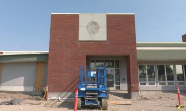 Chubbuck Police Station under construction