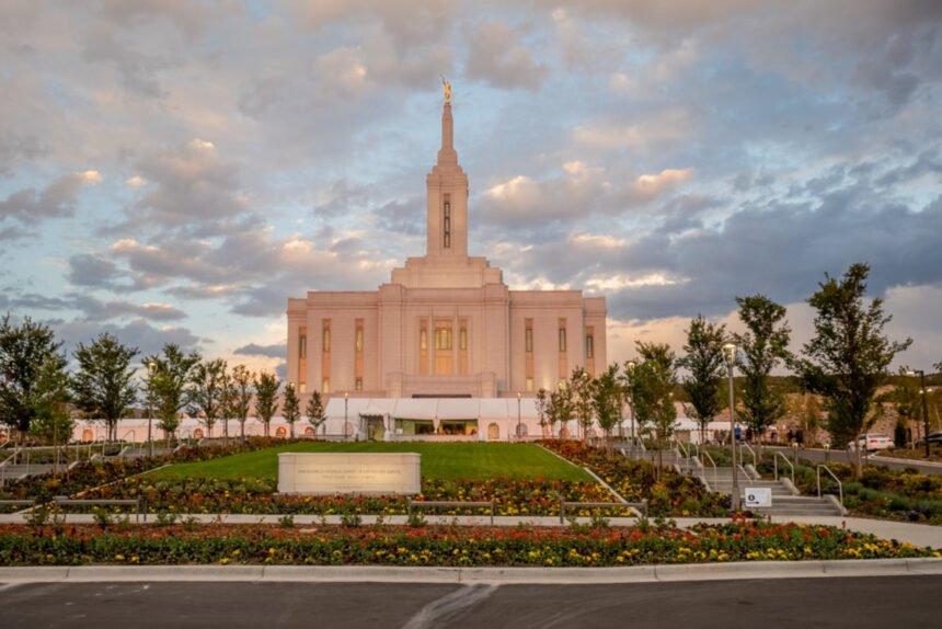 The Pocatello Idaho Temple is ready for a public open house in Pocatello, Idaho. This image was taken on Sunday, Sept. 12, 2021_