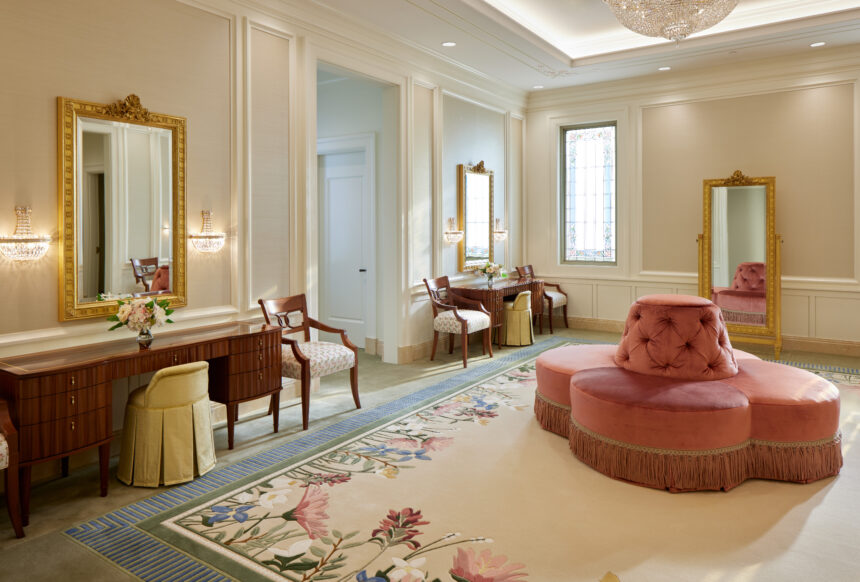 The bride's room in the Pocatello Idaho Temple_2021 by Intellectual Reserve, Inc. All rights reserved.