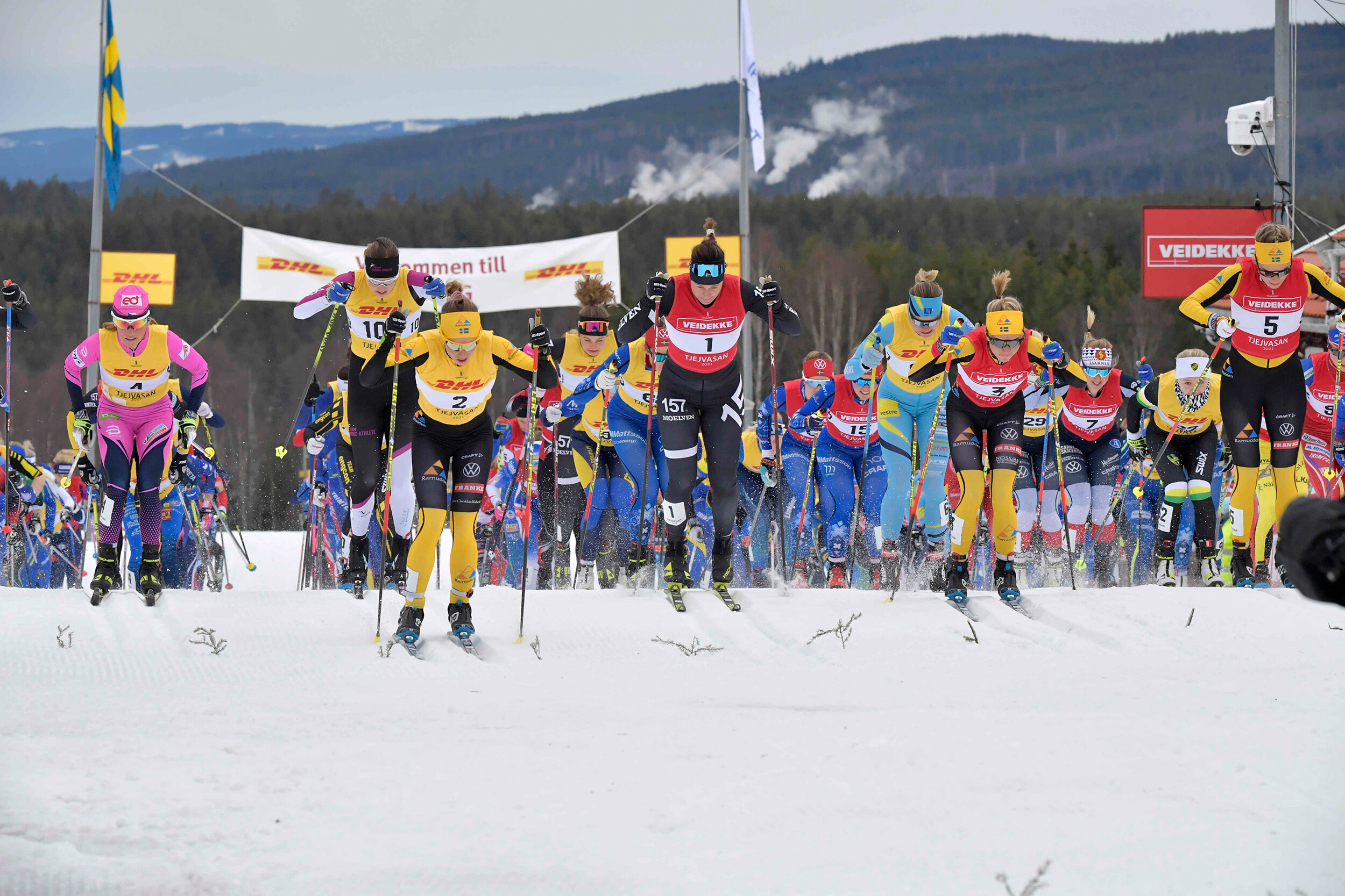 <i>Ulf Palm/Vasaloppet/Xinhua/Sipa USA</i><br/>Skiers might be at lower risk for anxiety