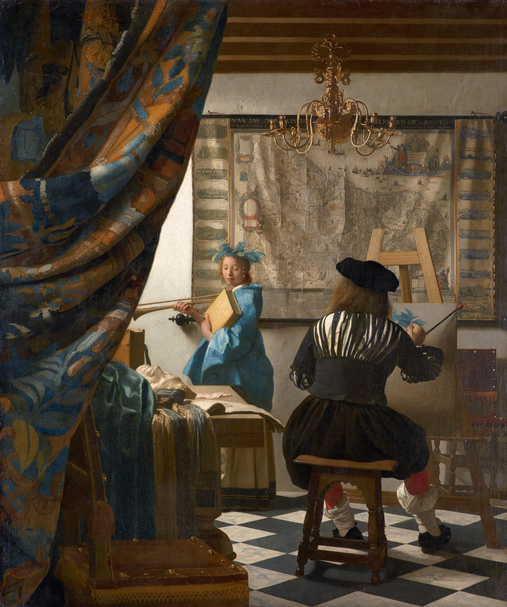 <i>Kunsthistorisches Museum Vienna</i><br/>Art historians aren't sure where Vermeer learned to paint
