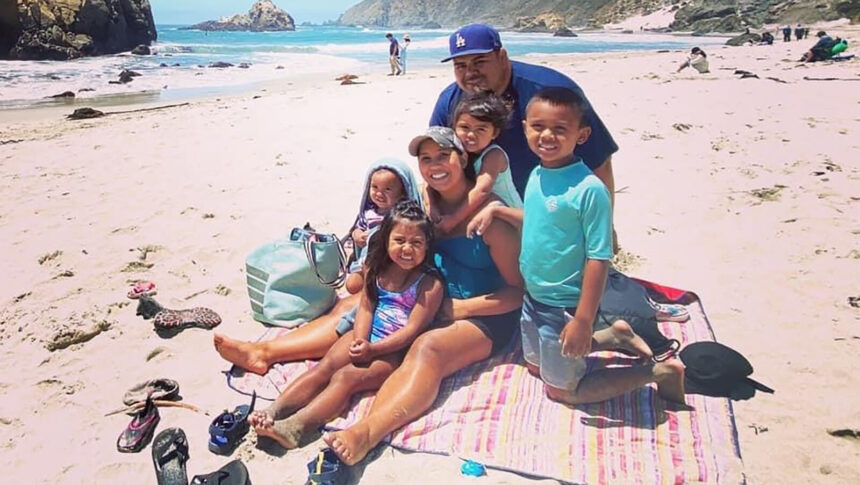 <i>From Gofundme</i><br/>Daniel and Davy Macias with their four children. A fifth